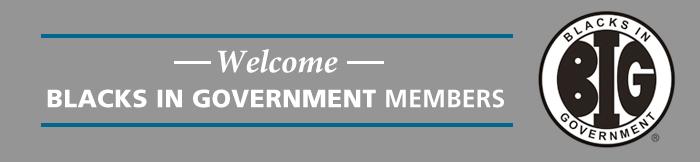Blacks In Government Members